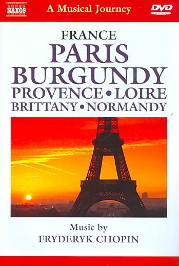 CHOPIN:MUSICAL JOURNEY PARIS BURGUNDY (DVD)